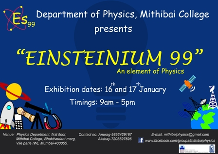 Einsteinium 99 – An Element of Physics