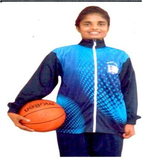 Shreya Salian represented India in Basket ball 2014-15