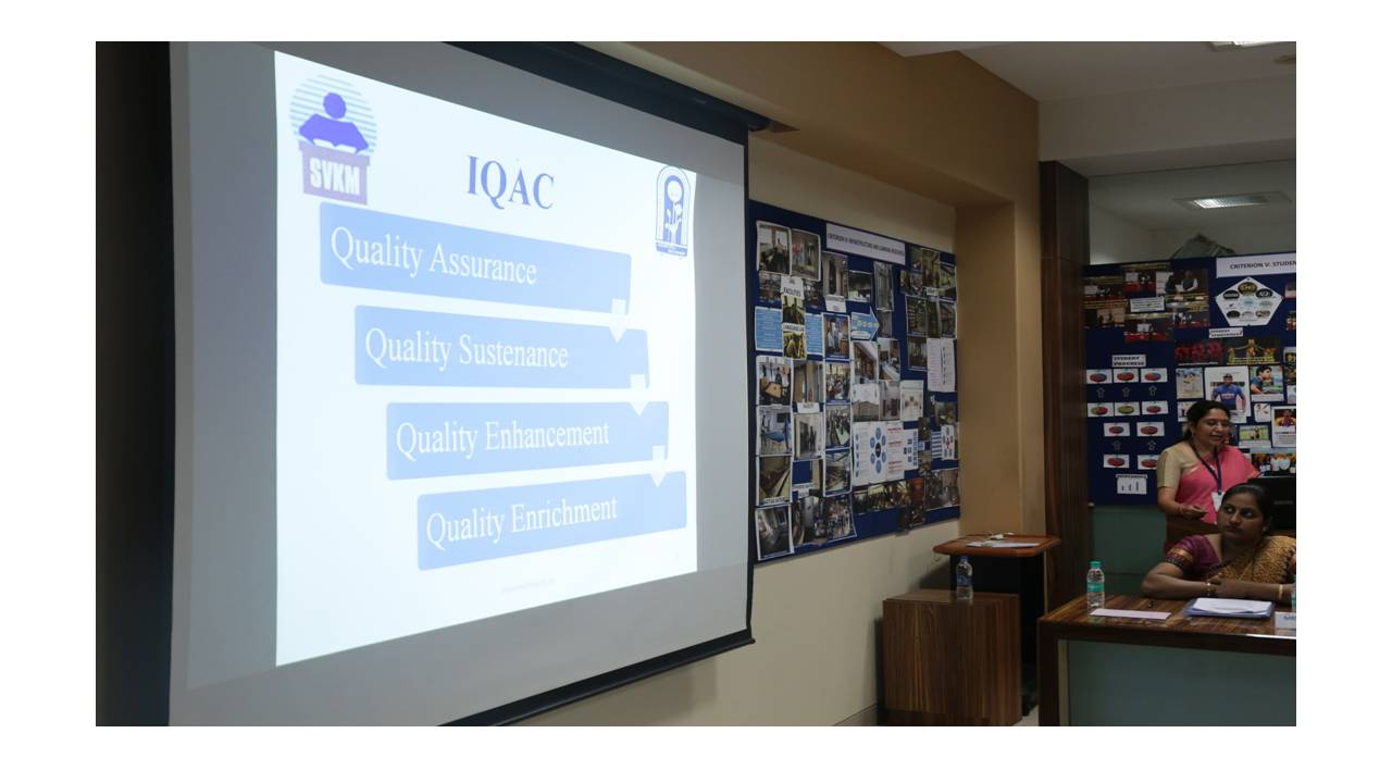 The Internal Quality Cell (IQAC)