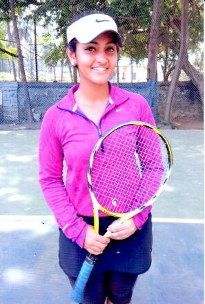 International Tennis Player selected for West Zone Tournament