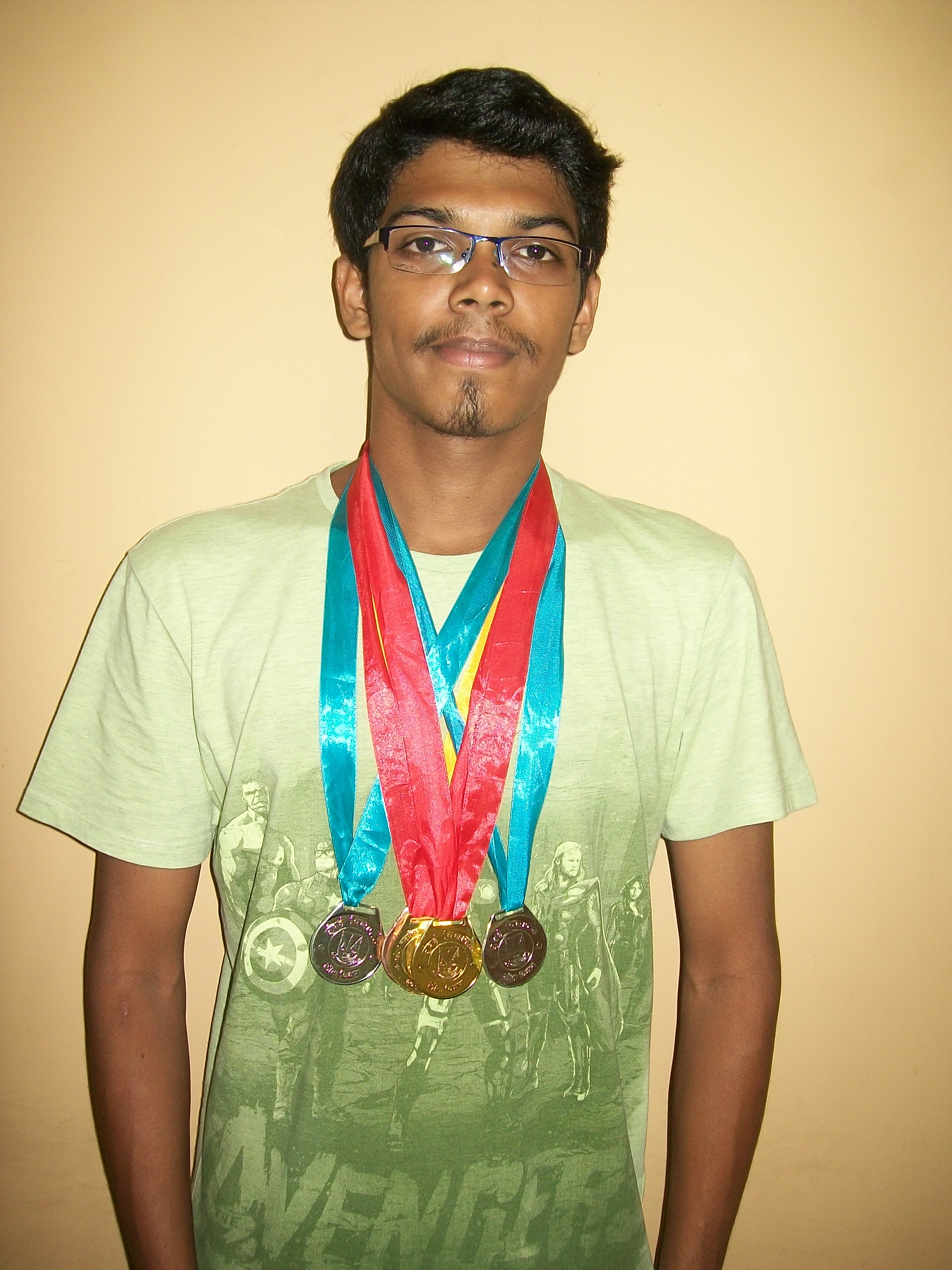Mr. Atharva Dandekar winner of 5 Medals UNiversity of Mumbai Inter-Collegiate Swimming Competition