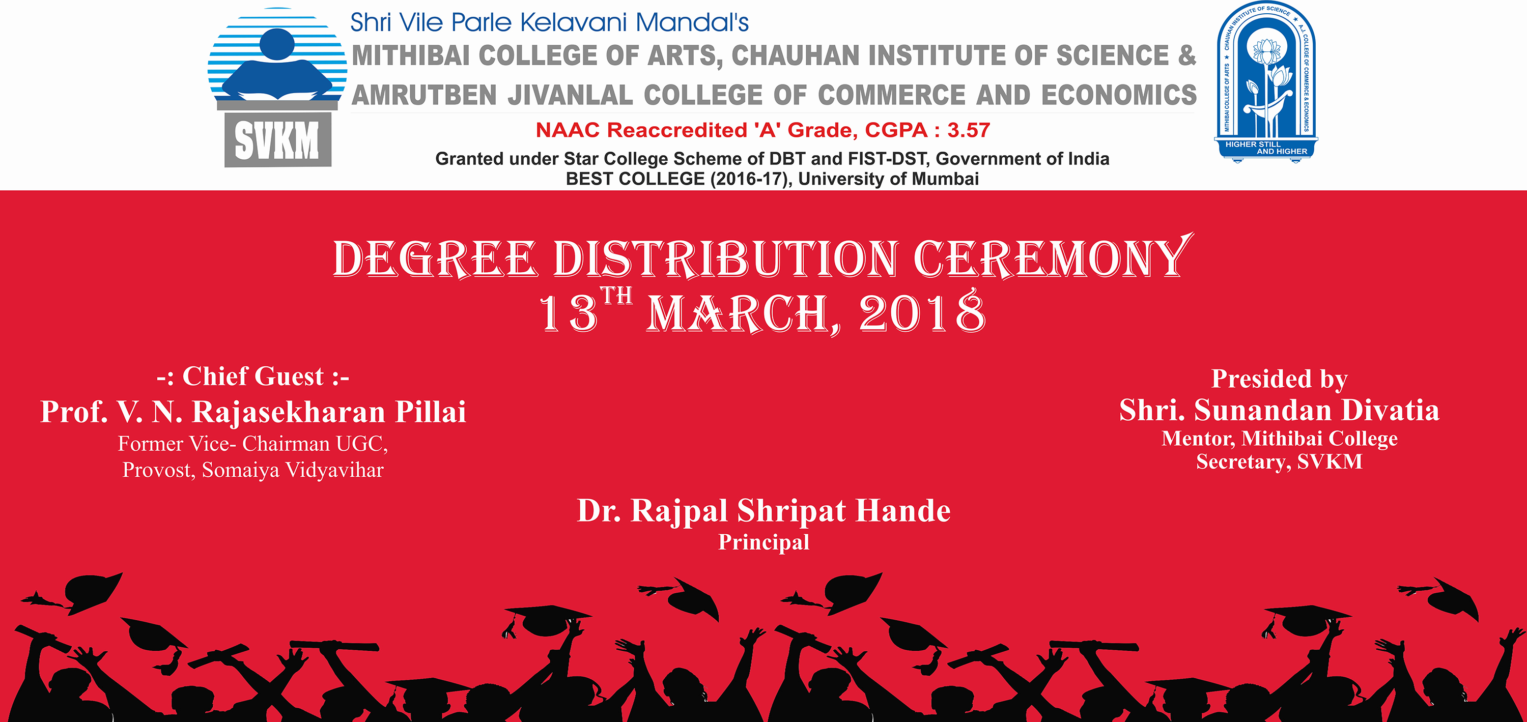 Degree Distribution Ceremony 2017-18