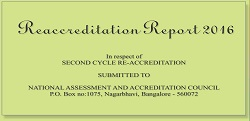 Reaccreditation Report 2016